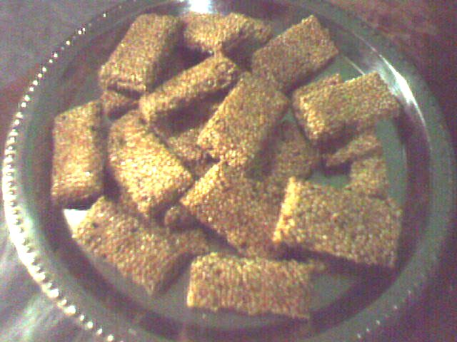 Homemade Sesame Seed Sweet Snacks picture