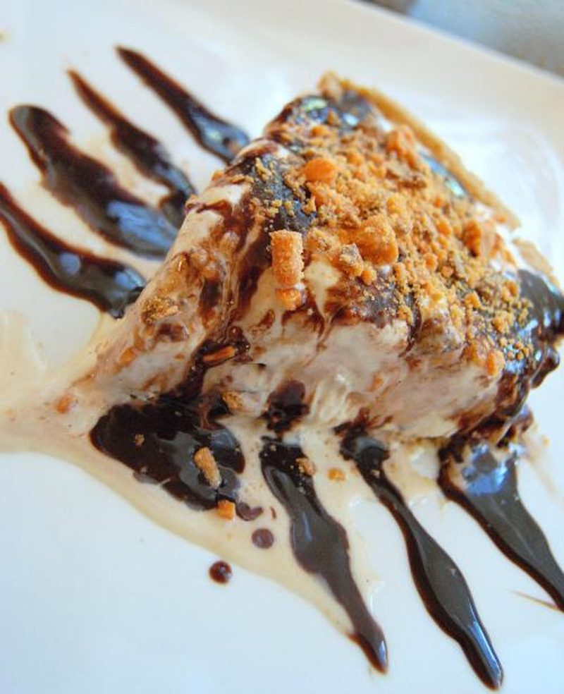 Almond Crust Ice Cream Pie picture