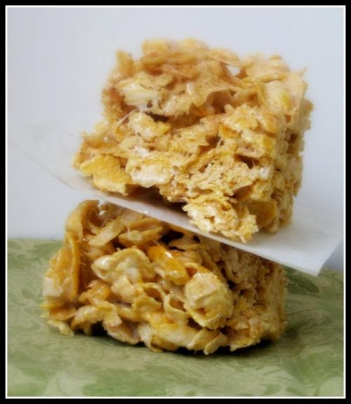 Almond Macaroon Bars picture