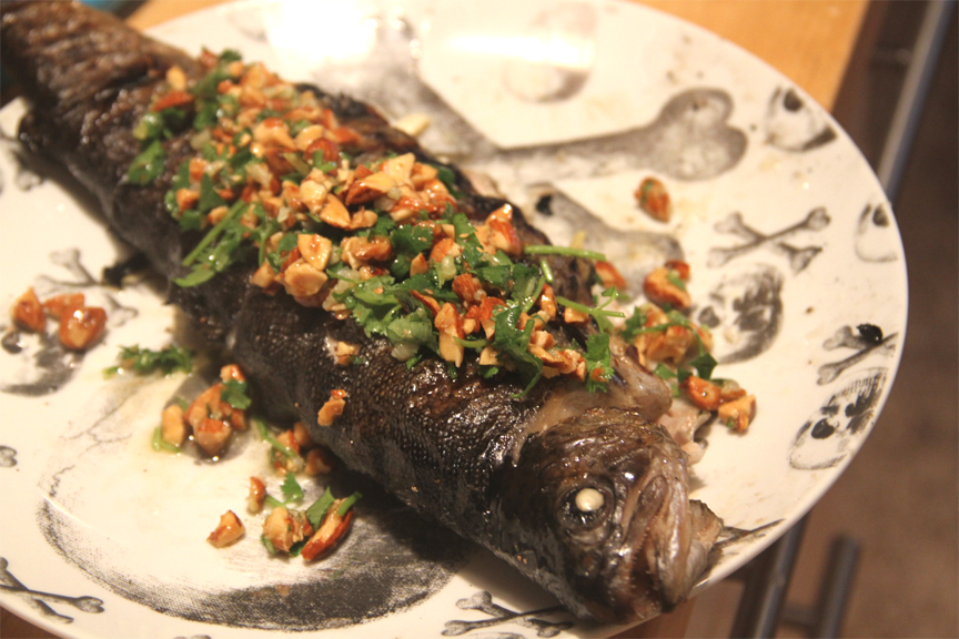 Almond Topped Trout picture