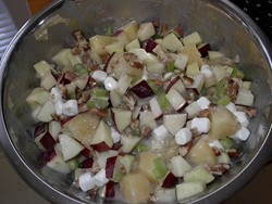 Grape Apple Salad picture