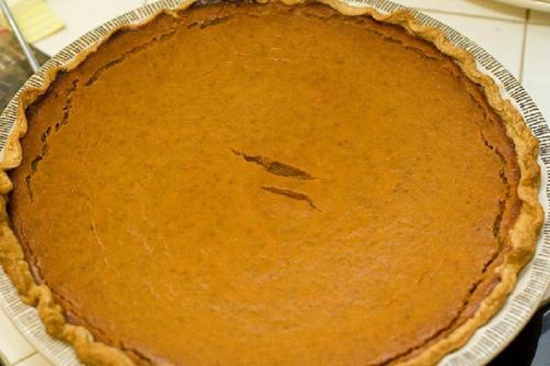 Apple Butter Pumpkin Pie picture