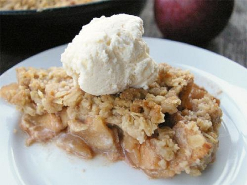 Apple Cheese Crisp picture