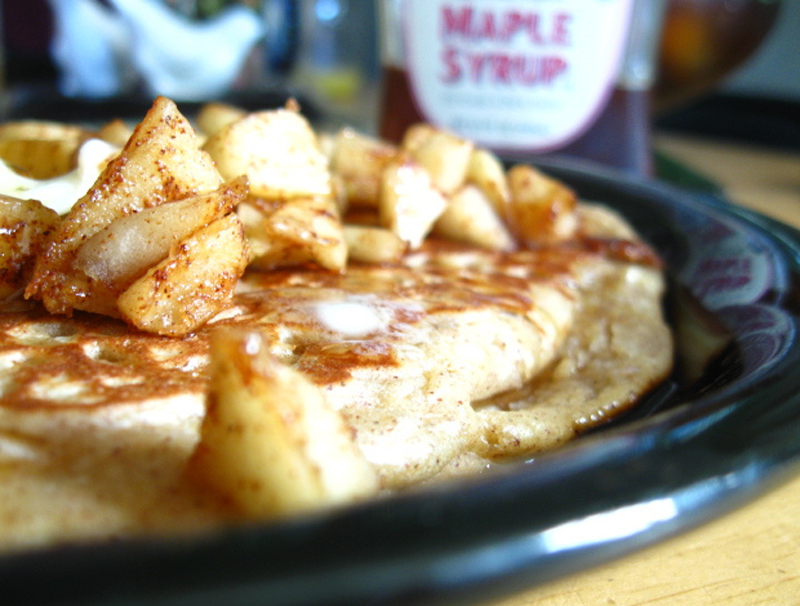 Apple Cinnamon Pancakes picture