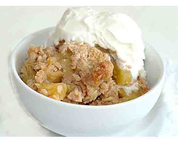 Apple Cobbler picture