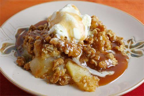 French Apple Cobbler picture