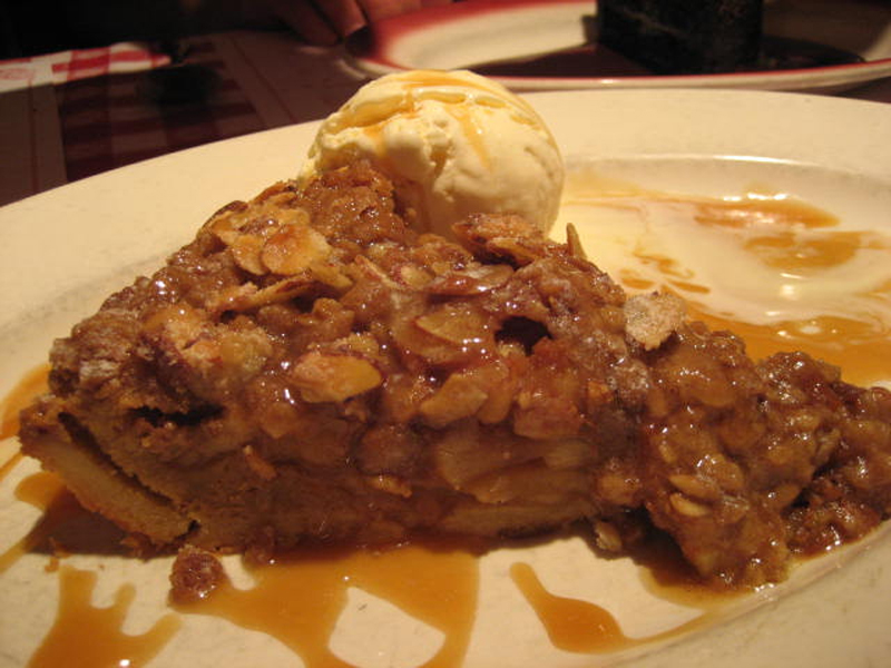 Caramel Apple Crisp picture