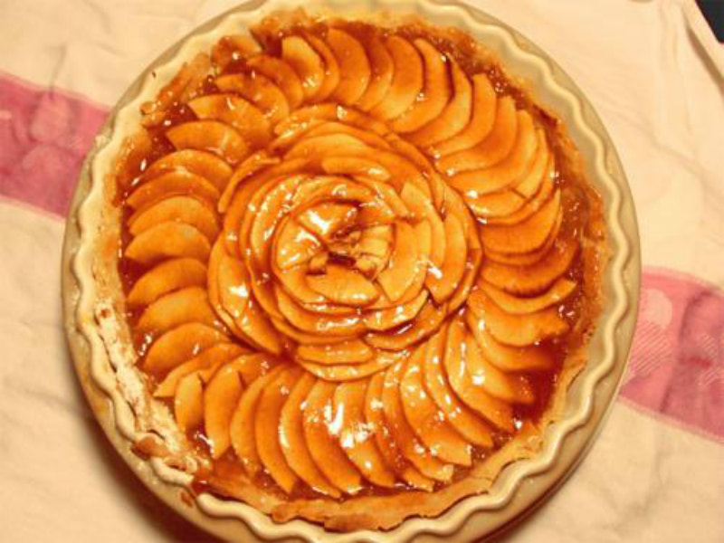 French Apple Flan picture