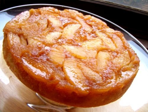 Apple Ginger Upside Down Cake picture