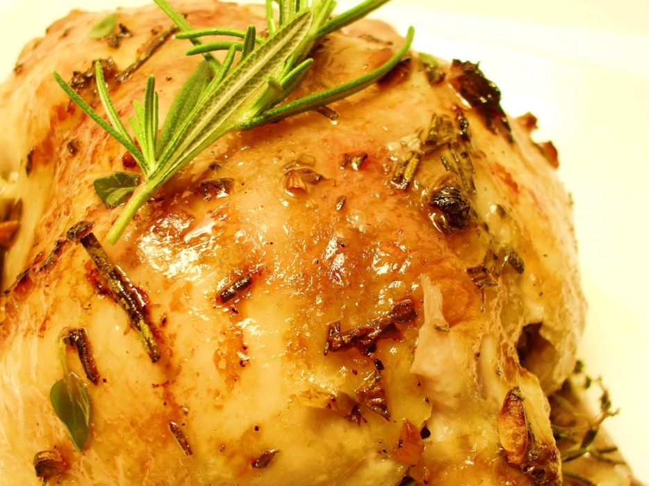 Apple Rosemary-Thyme Cornish Game Hens  picture