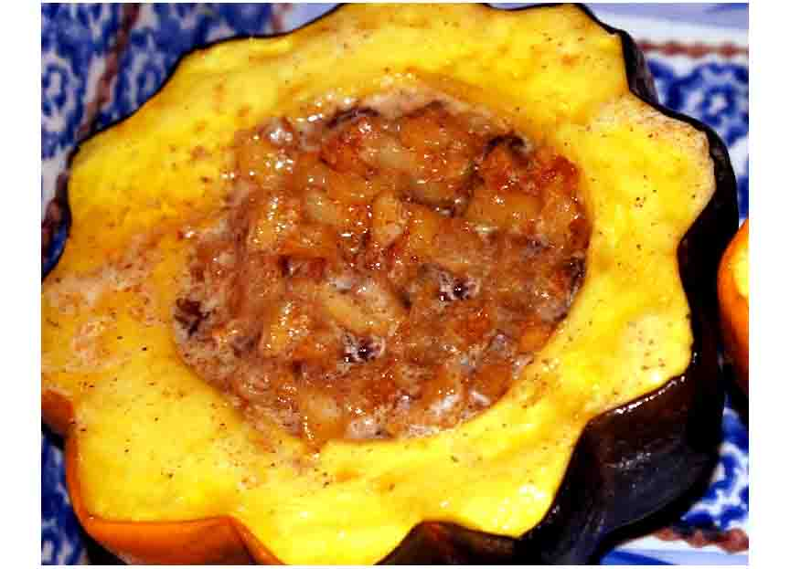 Apple Stuffed Squash picture