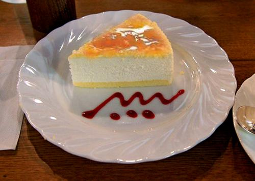 Apricot Cheese Cake picture