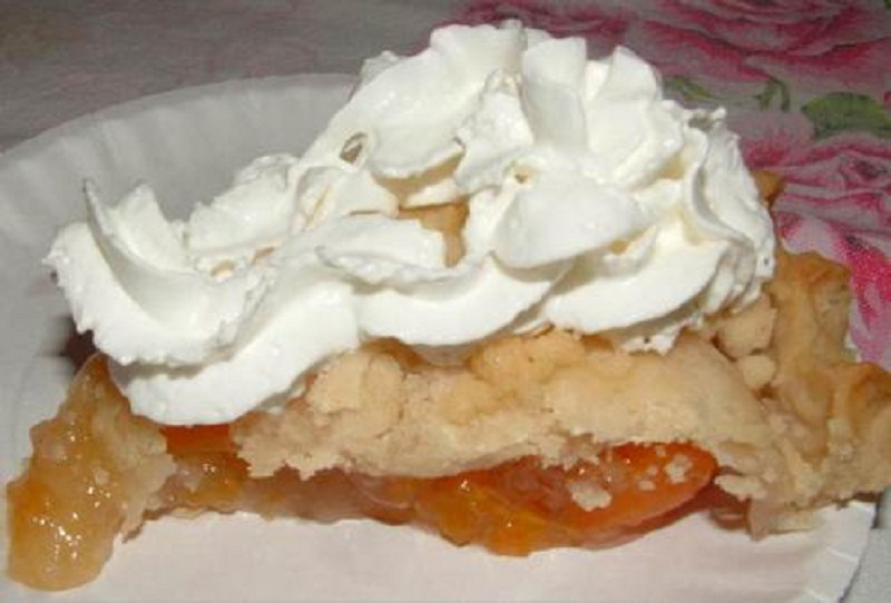 Apricot Custard Pie picture