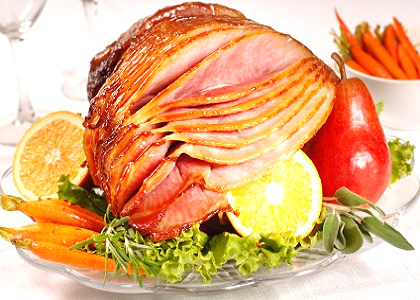 New Year's Apricot Honey Glazed Ham picture