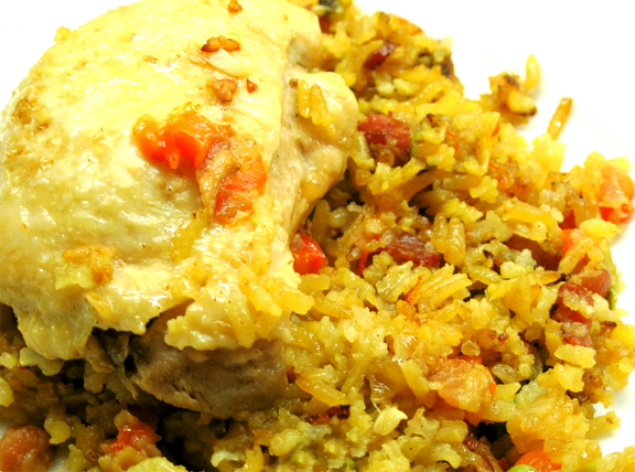Mexican Arroz Con Pollo picture