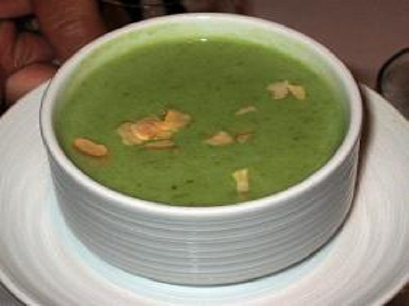 Asparagus Escarole Soup picture