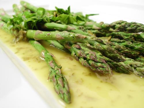 Fresh Asparagus Vinaigrette picture