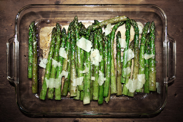 Asparagus with Parmesan Cheese picture