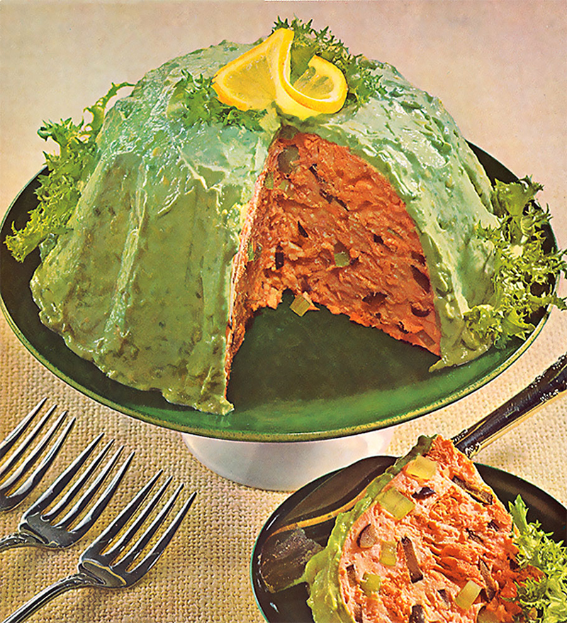 Salmon Avocado Mold picture