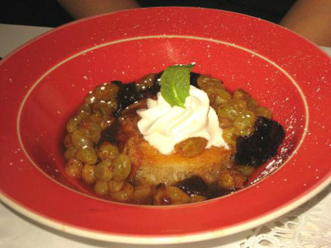 Babas Au Rhum And Savarin With Fruit And Cream picture
