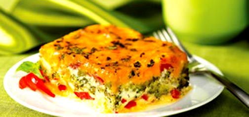 Baked Vegetable Omelette picture