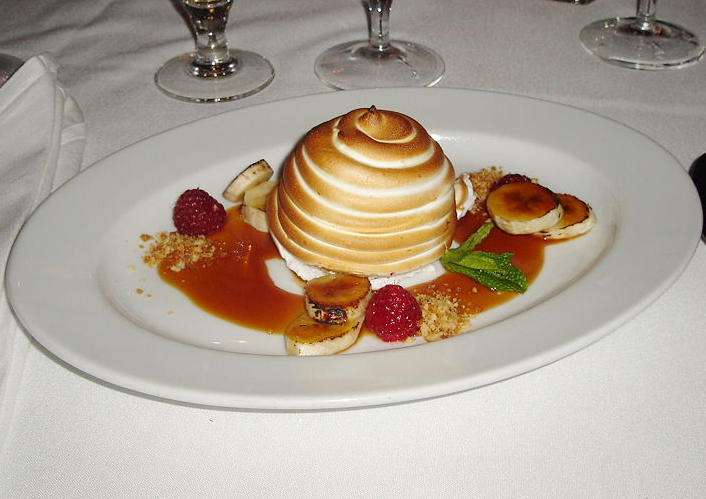 Holiday Baked Alaska picture