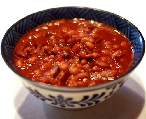 Baked Beans with Ham picture