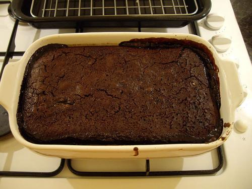 Baked Chocolate Pudding picture