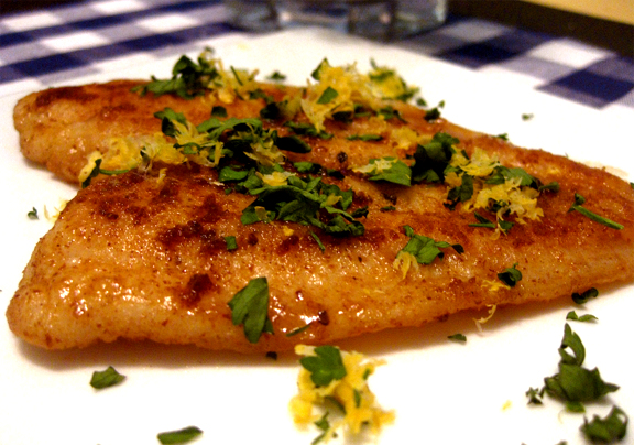 Baked Fillets Of Flounder picture