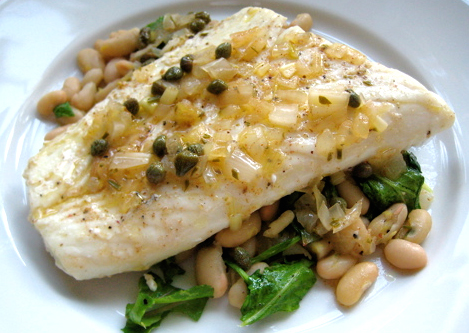 Baked Halibut picture