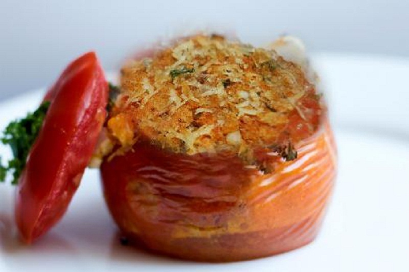 Baked Stuffed Tomatoes picture