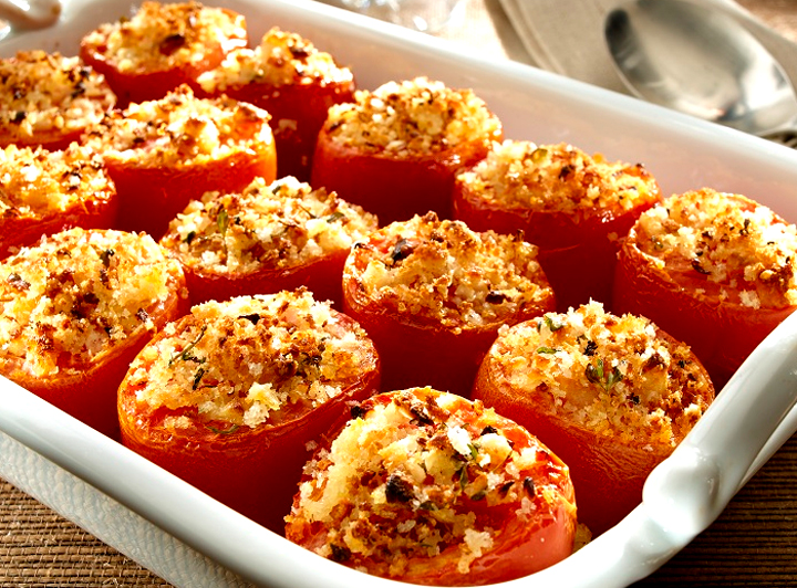 Ham & Rice Stuffed Tomatoes picture