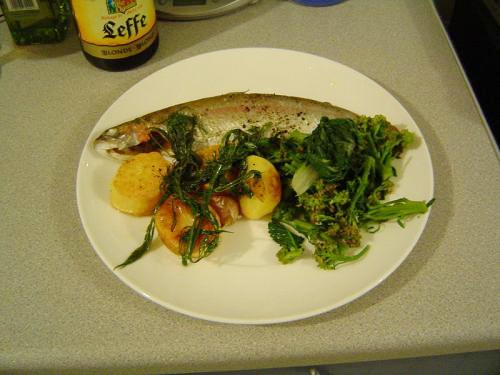 Baked Trout picture