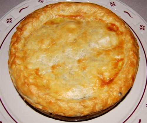 Baked Vegetable Pie picture