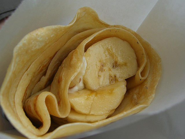 Banana Crepes picture
