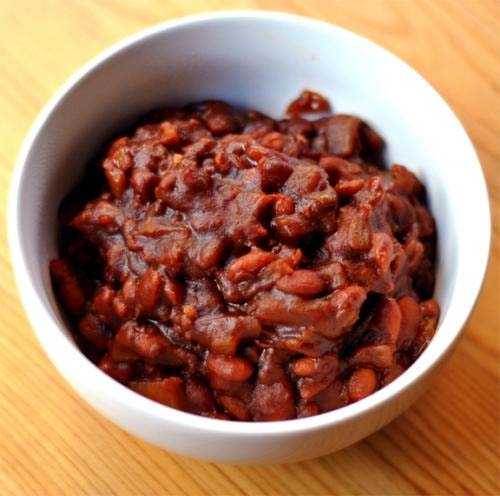 Barbecue Baked Beans And Bacon picture