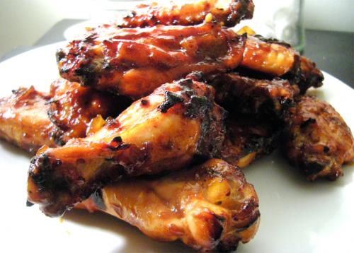 Barbecued Chicken Wings picture