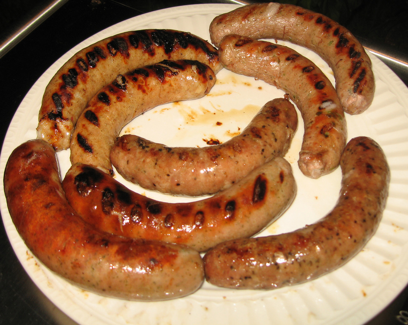 Barbecued Sausage picture