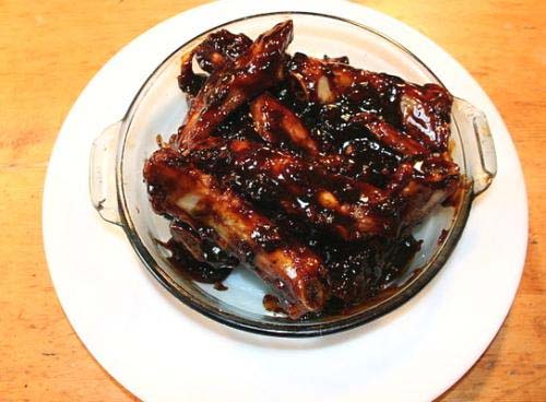 Barbecued Spare Ribs Dinner picture