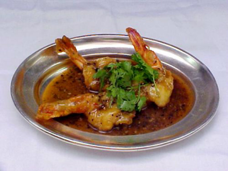 Hot Pepper Prawns picture