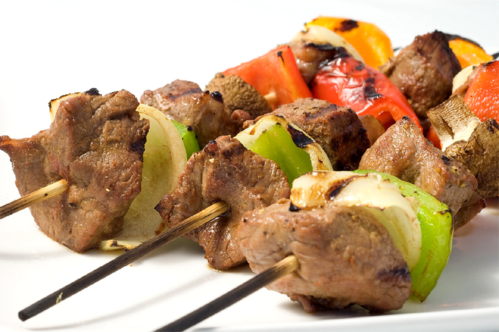 Beef and Mushroom Kebabs picture