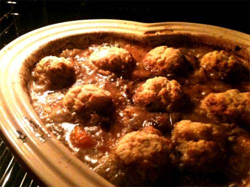 Beef Stew With Dumplings picture