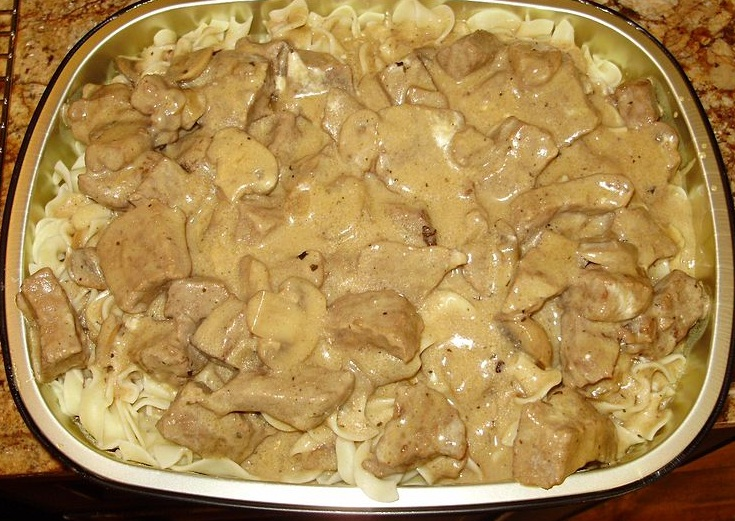 Dale and Shari's Beef Stroganoff picture
