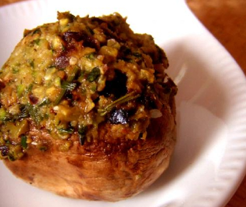 Beef Stuffed Mushrooms picture