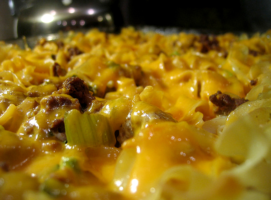 Beef Vegetable Noodle Casserole picture