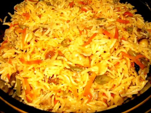 Vegetable Pulao picture