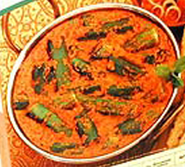 Okra poriyal picture