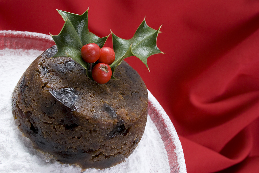 Old Time Christmas Pudding picture