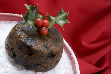 Diabetic Plum Pudding picture