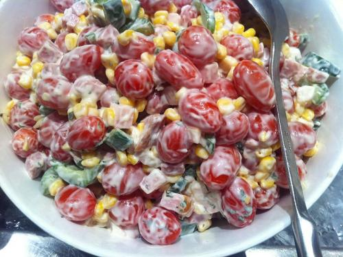 Bing-Cherry Salad picture